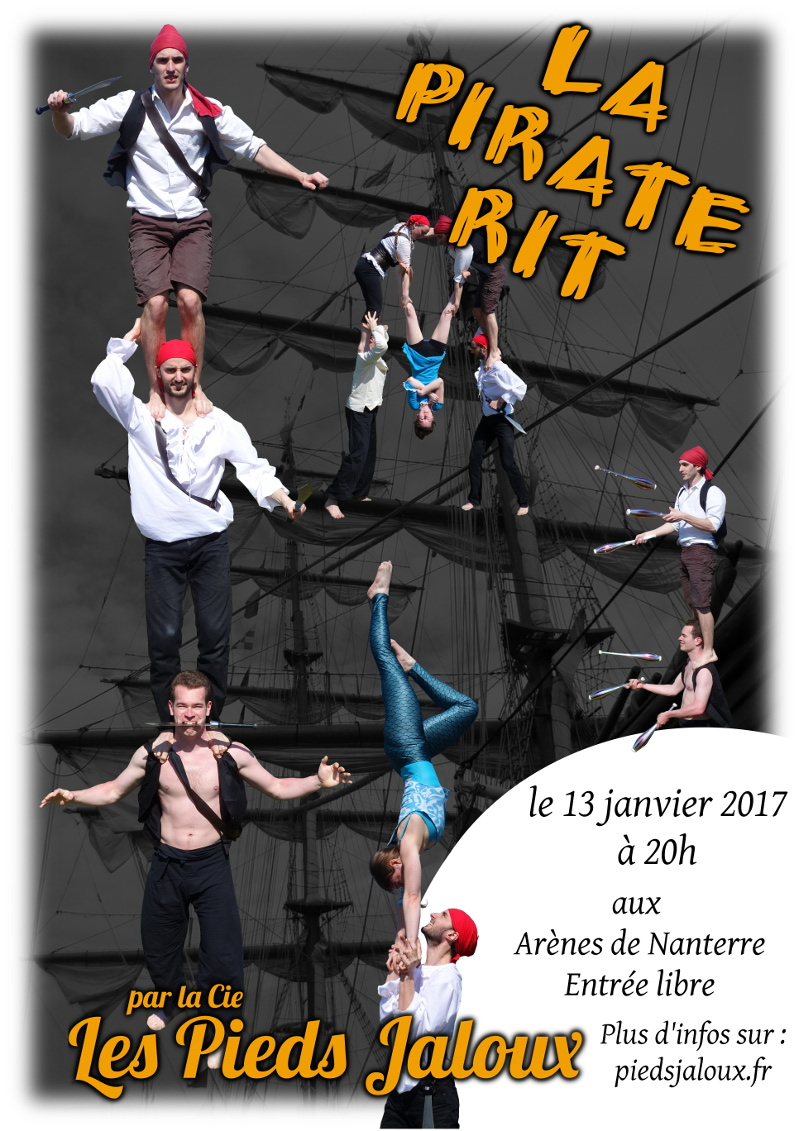 Affiche Pirate Rit